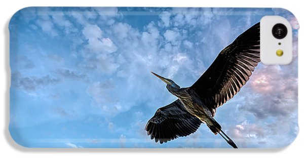 Flight Of The Heron IPhone 5c Case by Bob Orsillo