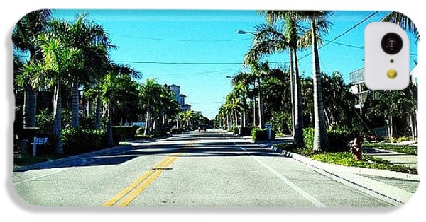 Sunny iPhone 5c Case - Florida Drive by Jonathan Keane