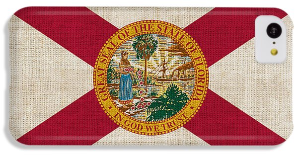 Florida State Flag IPhone 5c Case by Pixel Chimp