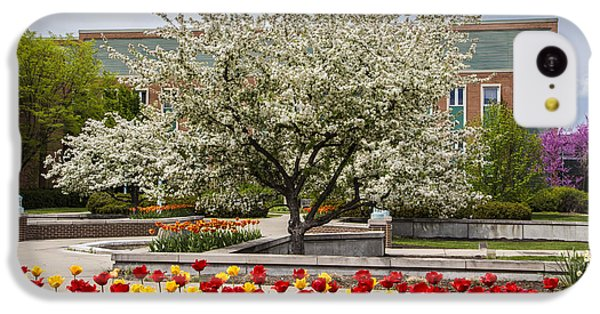 Flowers And Tree At Michigan State University  IPhone 5c Case