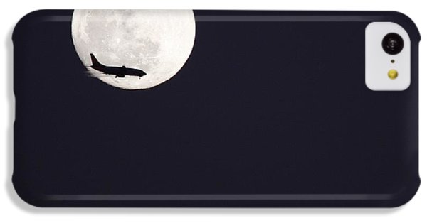 IPhone 5c Case featuring the photograph Fly Me To The Moon by Nathan Rupert