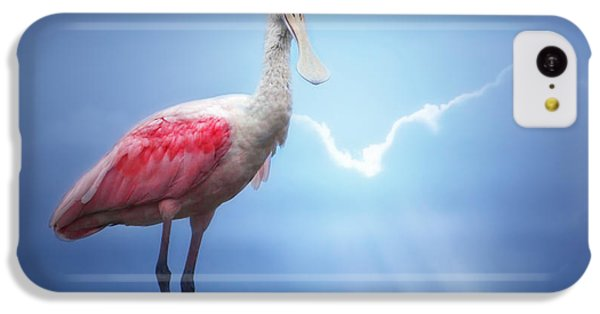 Foggy Morning Spoonbill IPhone 5c Case by Mark Andrew Thomas