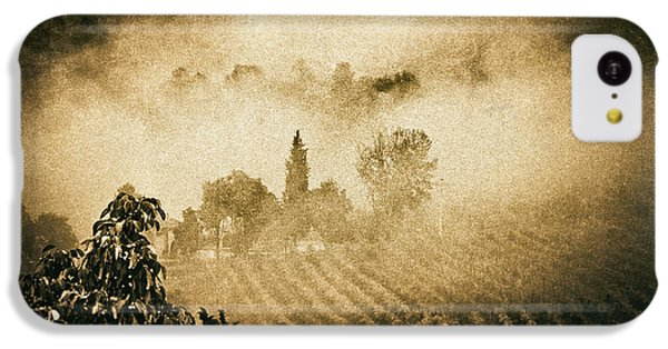IPhone 5c Case featuring the photograph Foggy Tuscany by Silvia Ganora