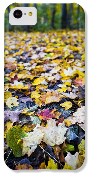 IPhone 5c Case featuring the photograph Foliage by Sebastian Musial