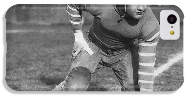 Football Fullback Player IPhone 5c Case by Underwood Archives
