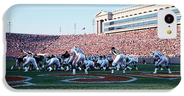 Football Game, Soldier Field, Chicago IPhone 5c Case by Panoramic Images