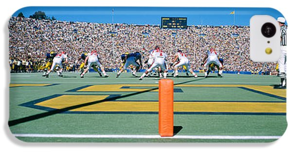 Football Game, University Of Michigan IPhone 5c Case by Panoramic Images