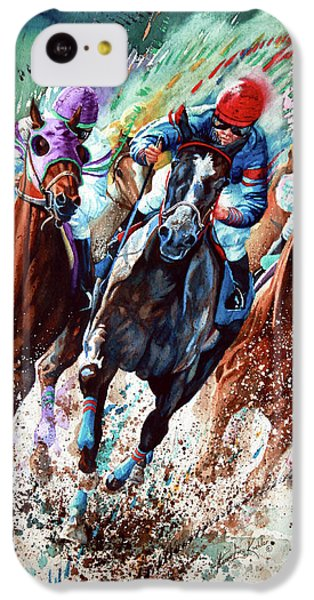 Horse iPhone 5c Case - For The Roses by Hanne Lore Koehler