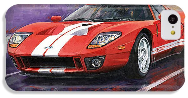 Car iPhone 5c Case - Ford Gt 2005 by Yuriy Shevchuk