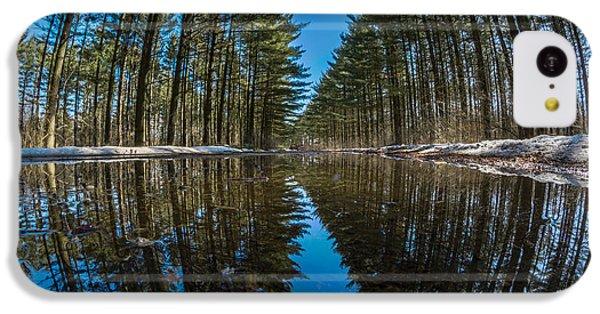 Forest Reflections IPhone 5c Case by Randy Scherkenbach