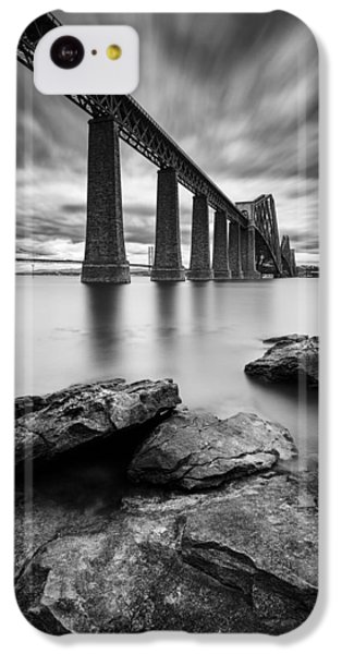 Forth Bridge IPhone 5c Case by Dave Bowman