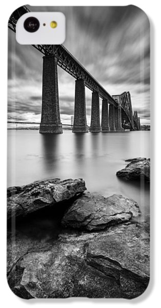 White iPhone 5c Case - Forth Bridge by Dave Bowman