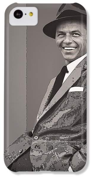 Frank Sinatra IPhone 5c Case by Daniel Hagerman