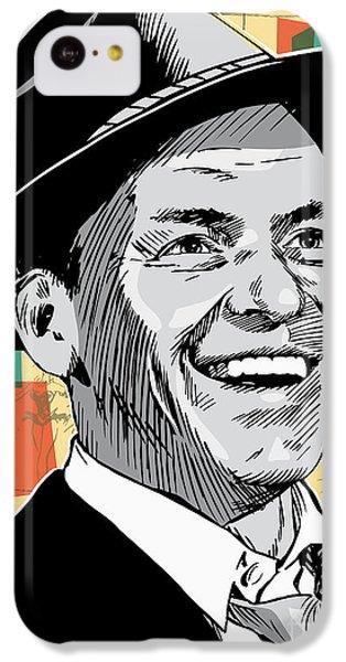 Frank Sinatra Pop Art IPhone 5c Case by Jim Zahniser