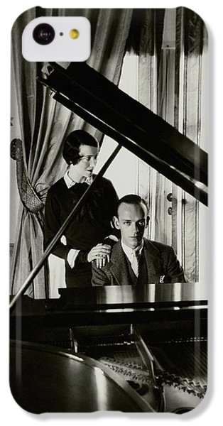 Fred And Adele Astaire At A Piano IPhone 5c Case by Cecil Beaton