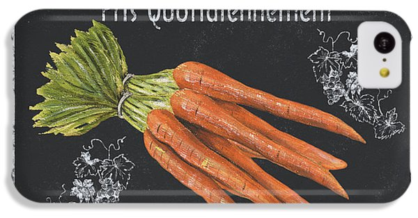 Carrot iPhone 5c Case - French Vegetables 4 by Debbie DeWitt