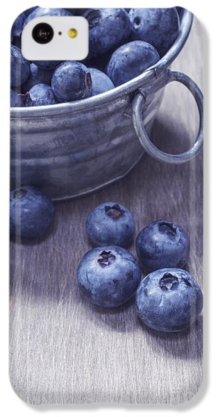 Fresh Picked Blueberries With Vintage Feel IPhone 5c Case
