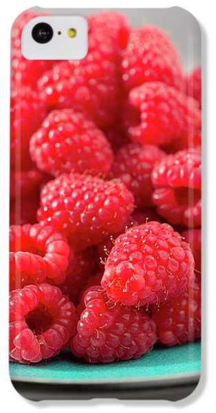 Fresh Raspberries IPhone 5c Case by Aberration Films Ltd