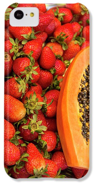 Fresh Tropical Fruit For Sale IPhone 5c Case