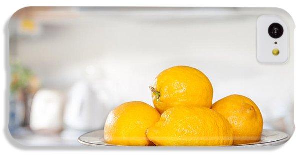 Freshly Picked Lemons IPhone 5c Case by Amanda Elwell