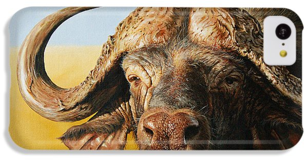 African Buffalo IPhone 5c Case by Mario Pichler