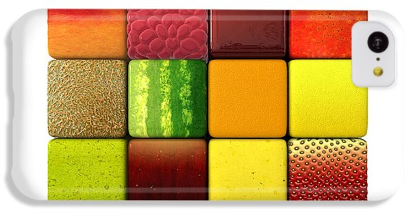 Fruit Cubes IPhone 5c Case by Allan Swart