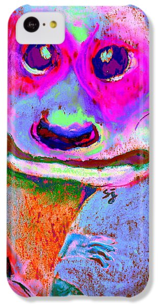 Funky Meerkat Tunnel Art Print IPhone 5c Case