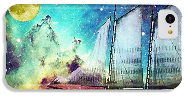 Galileo's Dream - Schooner Art By Sharon Cummings IPhone 5c Case