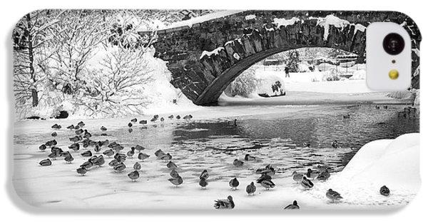 Gapstow Bridge In Snow IPhone 5c Case