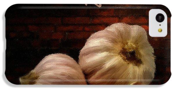 Garlic II IPhone 5c Case by Lourry Legarde