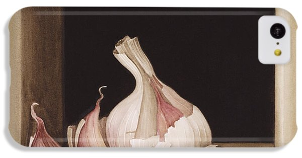 Garlic IPhone 5c Case by Jenny Barron