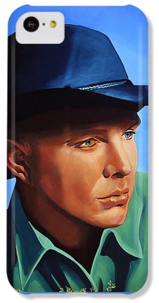 Saxophone iPhone 5c Case - Garth Brooks by Paul Meijering