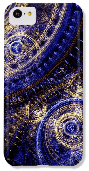 Doctor iPhone 5c Case - Gears Of Time by Martin Capek