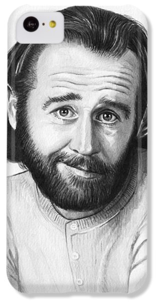 George Carlin Portrait IPhone 5c Case