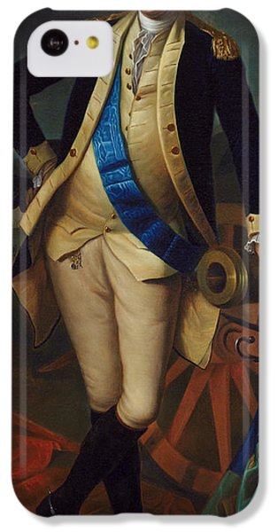 George Washington IPhone 5c Case by Charles Wilson Peale