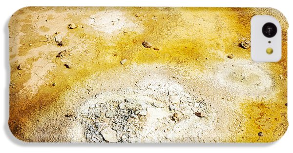 Detail iPhone 5c Case - Geothermal Area Detail Iceland by Matthias Hauser