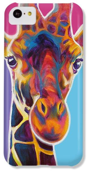 Giraffe - Marius IPhone 5c Case by Alicia VanNoy Call