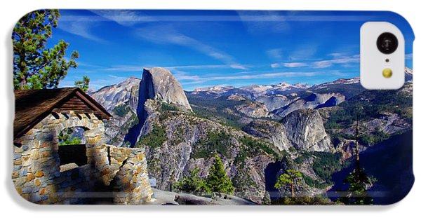 Glacier Point Yosemite National Park IPhone 5c Case by Scott McGuire