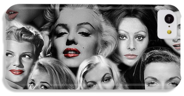 Grace Kelly iPhone 5c Case - Glamour Girls 1 by Andrew Fare