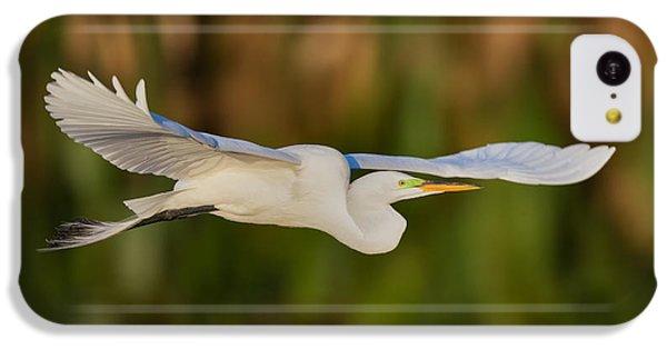 Gliding Great Egret IPhone 5c Case