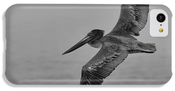 Gliding Pelican In Black And White IPhone 5c Case