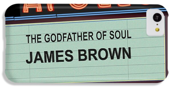 Apollo Theater iPhone 5c Case - Godfather Of Soul by Michael Lovell