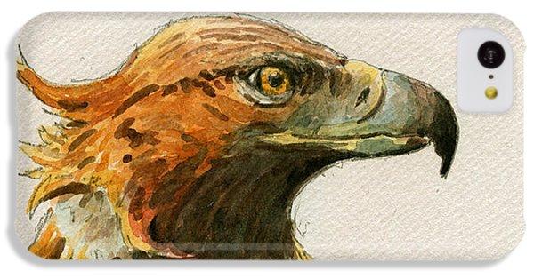 Mice iPhone 5c Case - Golden Eagle by Juan  Bosco