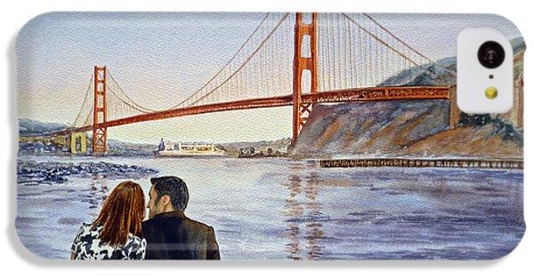 Golden Gate Bridge San Francisco - Two Love Birds IPhone 5c Case