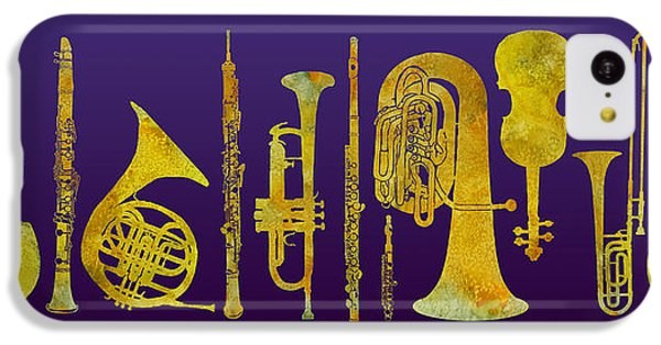 Golden Orchestra IPhone 5c Case by Jenny Armitage