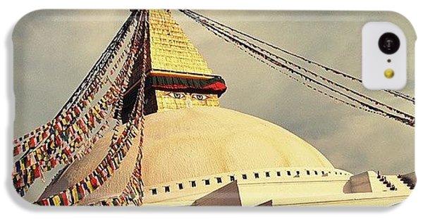 Golden Stupa IPhone 5c Case