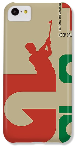Golf Poster IPhone 5c Case