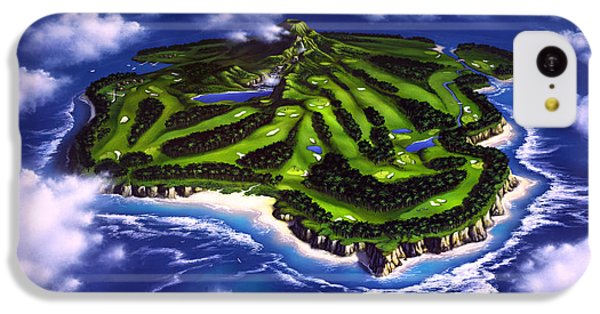 Golfer's Paradise IPhone 5c Case by Jerry LoFaro