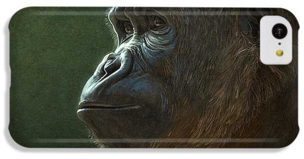 Gorilla IPhone 5c Case by Aaron Blaise