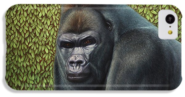 Gorilla With A Hedge IPhone 5c Case